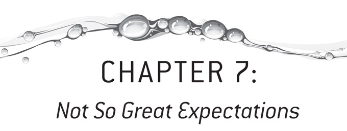 Chapter 7 of the Half a Glass: The Realist's Guide - Not So Great Expectations